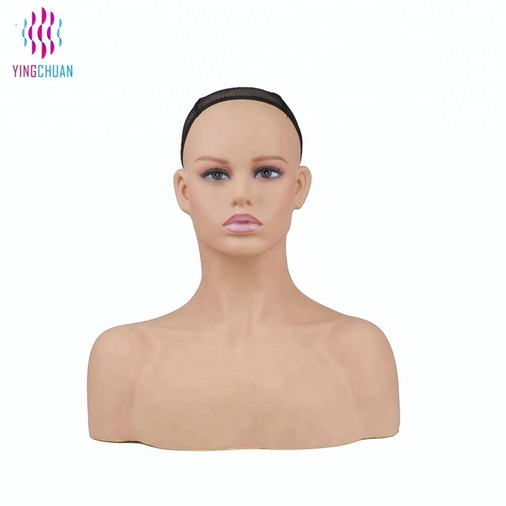 Alibaba China mannequin head for wigs