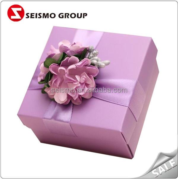 Doces Doces Caixa de Embalagem de Papel da Caixa de Presente de Noivado