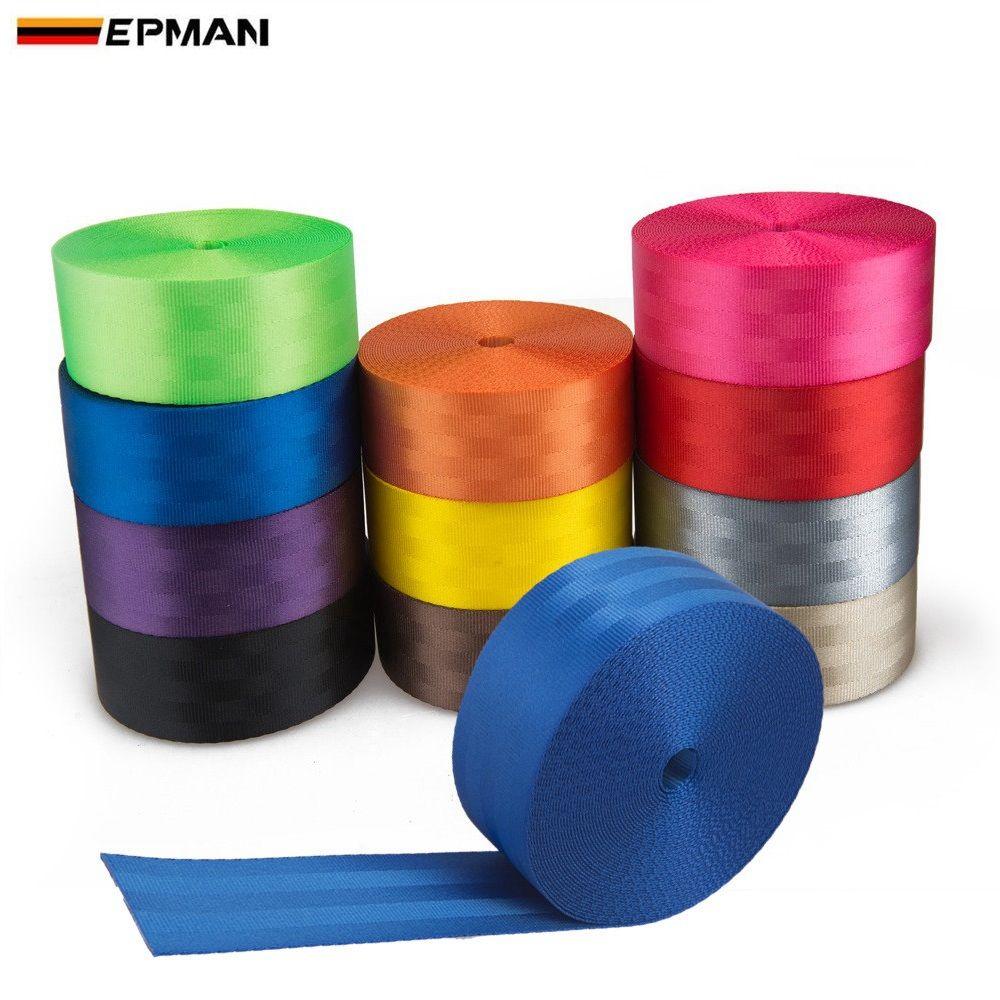 EPMAN Racing <span class=keywords><strong>Cinturón</strong></span> <span class=keywords><strong>de</strong></span> <span class=keywords><strong>seguridad</strong></span> Arnés <span class=keywords><strong>de</strong></span> tela <span class=keywords><strong>de</strong></span> correas <span class=keywords><strong>de</strong></span> coche <span class=keywords><strong>Cinturón</strong></span> <span class=keywords><strong>de</strong></span> <span class=keywords><strong>seguridad</strong></span> EPWR2018M10