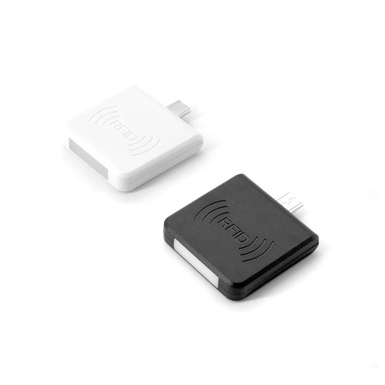 Customized 도매 white 및 black 2 colors 마이크로 usb usb 비접촉식 LF rfid reader