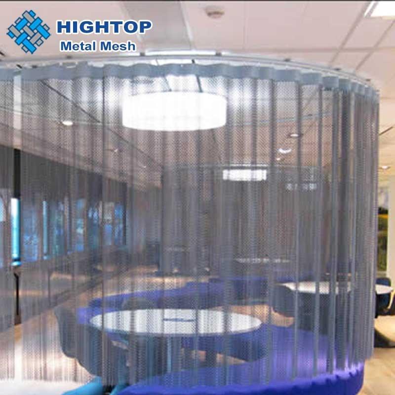 Aluminium material metall tuch/dekorative draht mesh vorhang für zimmer
