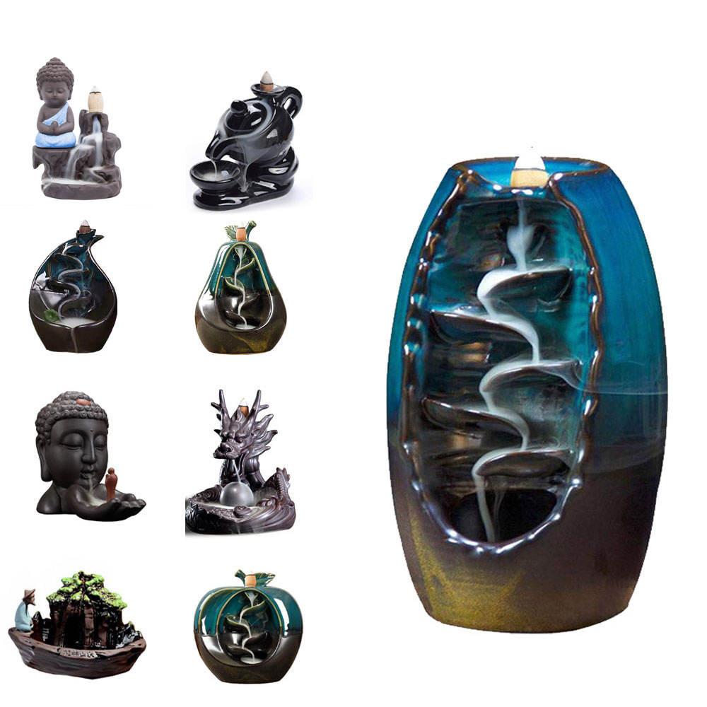 CAMPIONE GRATUITO di ceramica lampade ad olio in ottone mariner lampada ad olio Crostata wax warmer bruciatore di incenso