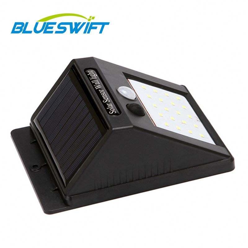 BLUESWIFT de alta calidad IP65 impermeable decoración paisaje <span class=keywords><strong>llama</strong></span> al aire libre de la iluminación Led de jardín Solar de la pared la luz