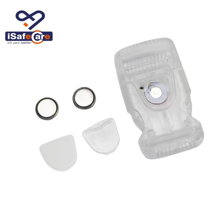 애완 동물 목걸이 LED를위한 고품질 도매 방수 LED 버클 2.0 cm
