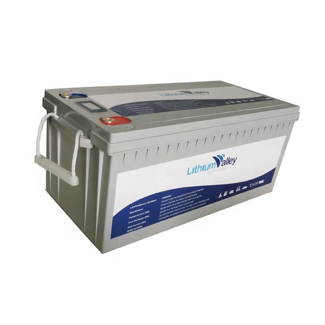 Factory Price Deep Cycle Battery LifePO4 12V 200ah Lithium Ion Battery for solar power/camping caravan/RV/boat/yacht