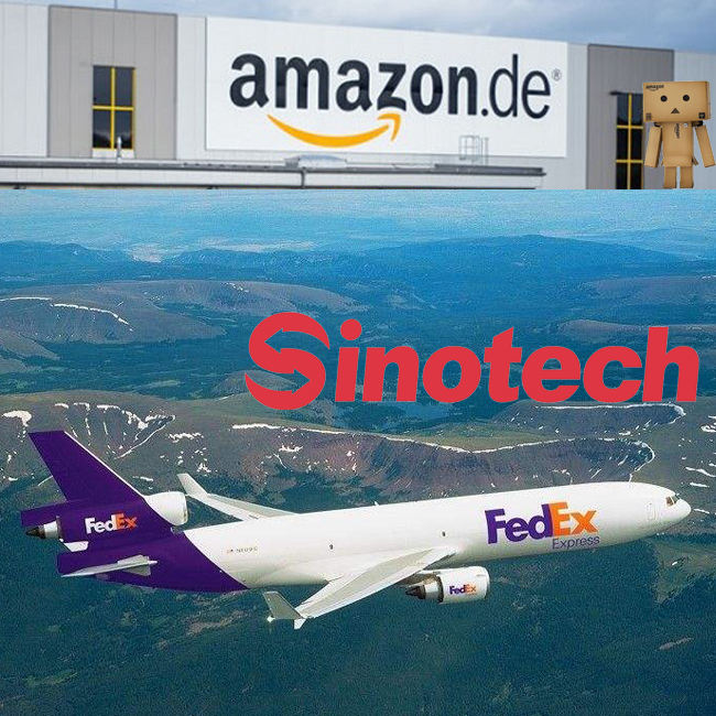 Cheap Fedex Germany rates FBA Amazon shipping express agent China to Europe Professional Fedex freight forwarder Sinotech