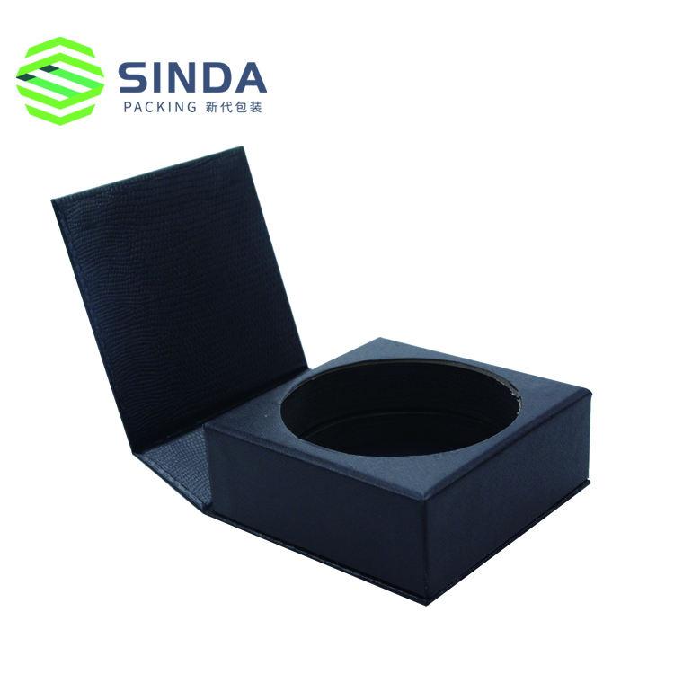 Fait main logo personnalisé boîte de papier magnétique aimant cadeau avec boîte de fermeture magnétique
