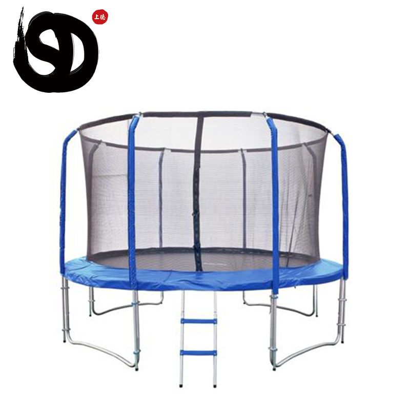 Kapalı Jimnastik yuvarlak 15ft trambolin paspaslar kauçuk