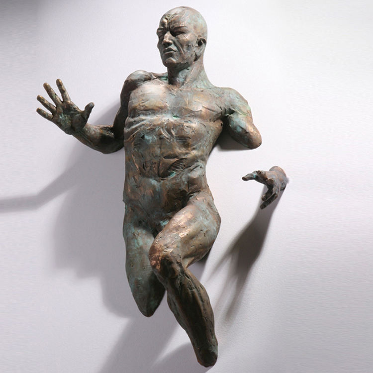 De alta calidad de <span class=keywords><strong>latón</strong></span> de <span class=keywords><strong>bronce</strong></span> Matteo Pugliese escultura de hombre
