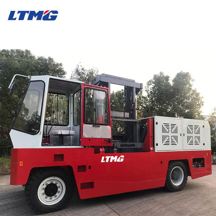 LTMG diesel 8 ton 10 ton lado cargadora de ruedas de la carretilla elevadora para venta