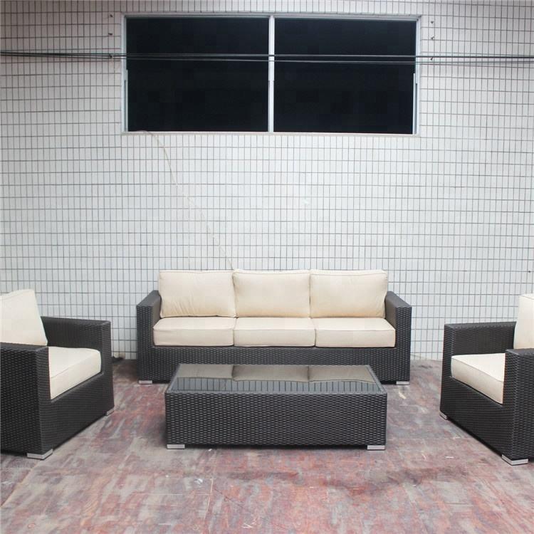 Mimbre sofá covers Mesa <span class=keywords><strong>Ratan</strong></span> último diseño de aluminio al aire libre conjunto de sofá conjunto de jardín de ratán