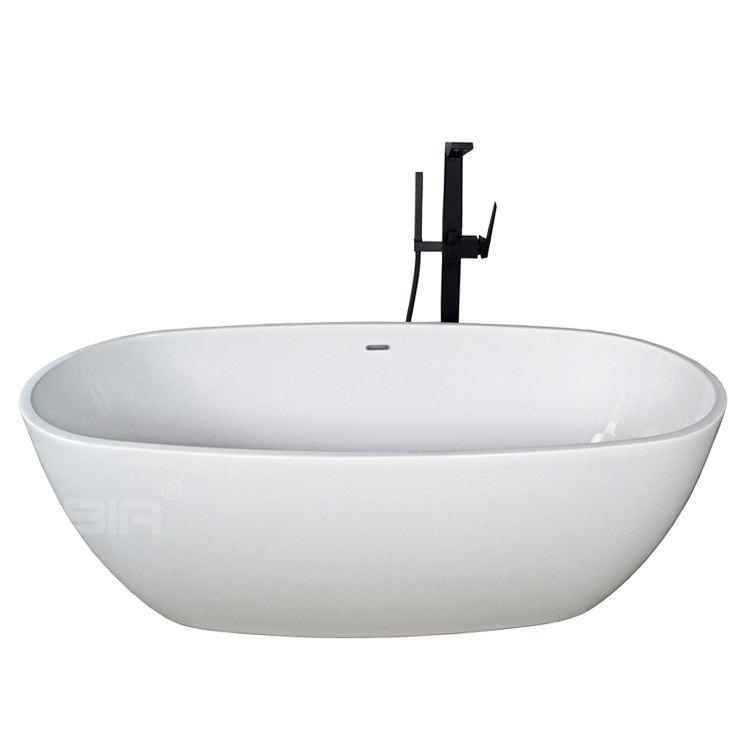 C6006 proyecto negro bañera jacuzzi, bañera