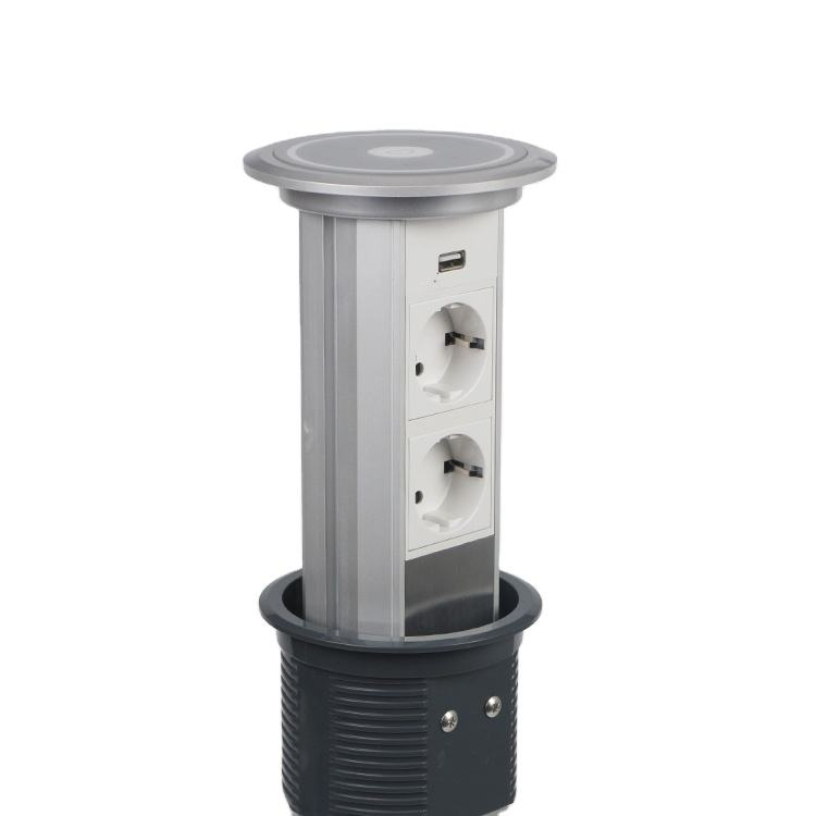 Hot selling machine grade socket and motorized pop up outlets eu manufactures