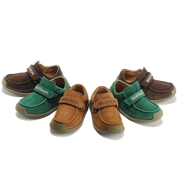 HOBIBEAR дети кожа wallabee обувь Дети мокасины