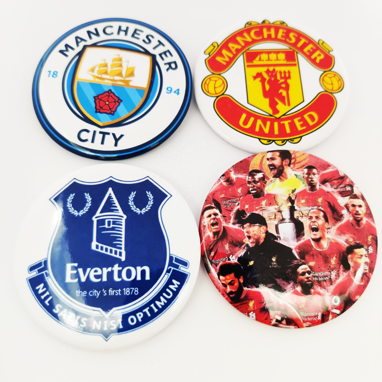 <span class=keywords><strong>Ligue</strong></span> personnalisée champions logo football club commémorative en métal badge épinglette badges pour <span class=keywords><strong>vêtements</strong></span>