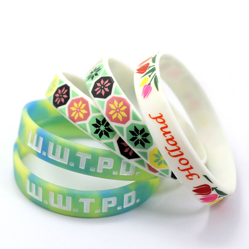 Silicone Wristband Wrist Band Design Your Own Cheap Personalized Custom Logo Rubber Silicone Bracelets