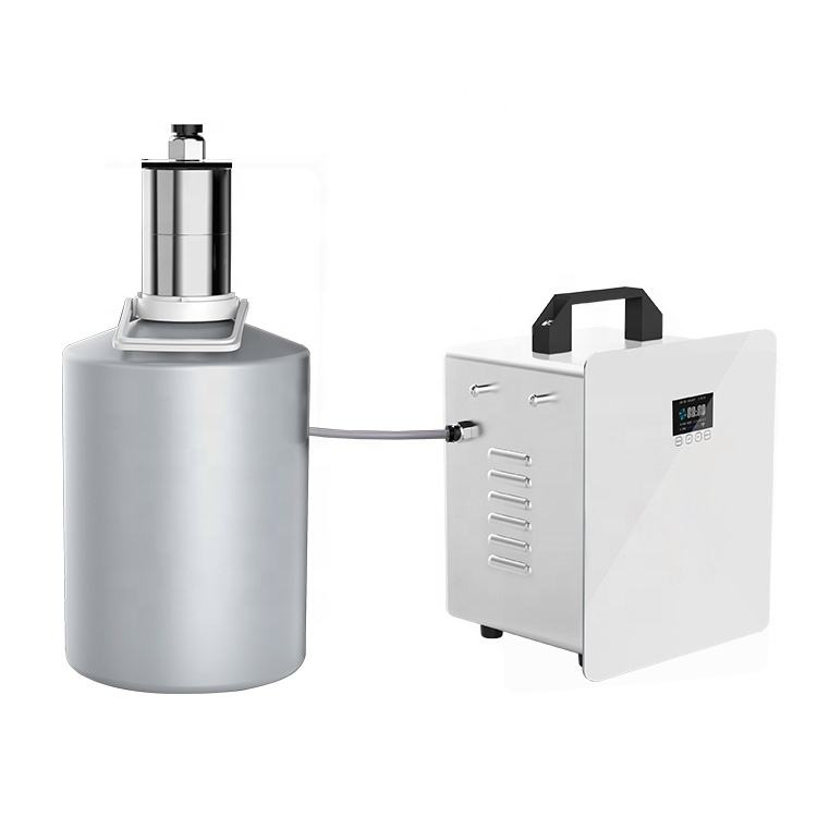 5000ml industrial electric metal oil diffuser air diffuser dispenser mobile remote control