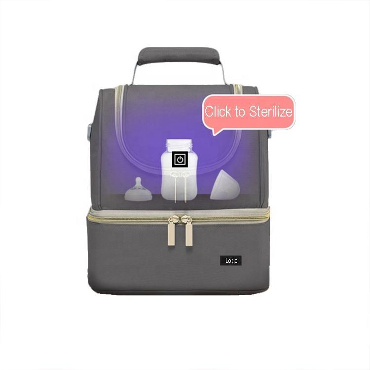 Rucksacks UV-Clean Sanitizer Portable Mommy Diaper Sterilizer Baby Bag UV