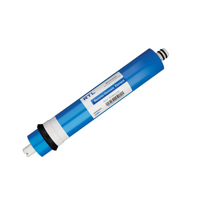 filtro de <span class=keywords><strong>agua</strong></span> RTL <span class=keywords><strong>2012</strong></span>-100GPD ro membrana 0,0001 micras de ósmosis inversa <span class=keywords><strong>cartucho</strong></span> purificador ro sistema de filtro estándar