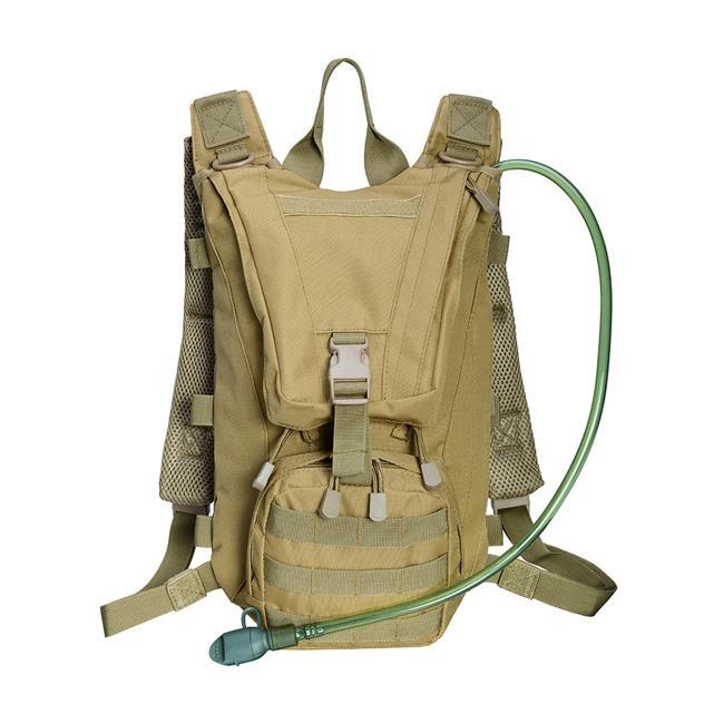 Oem custom und großhandel BEARKY wandern trekking armee militär kamel tasche taktische rucksack hydratation mit wasser blase pack tasche