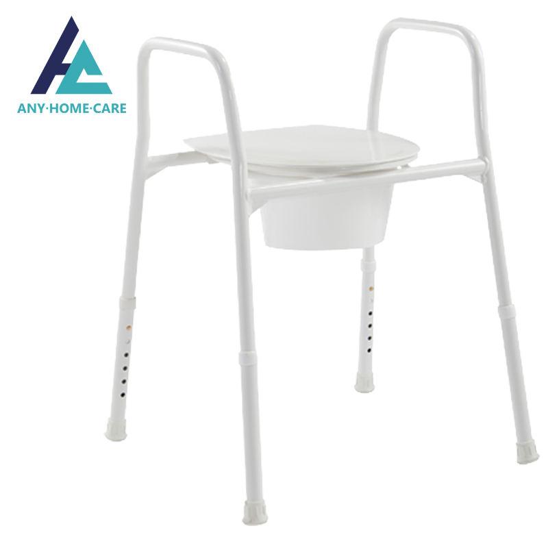 المستشفى الطبي المحمولة فائقة خفيفة الوزن الألومنيوم المرحاض صوان قعادة كرسي لكبار السن استخدام الرعاية المنزلية