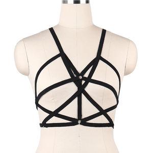 body harness Leather harness chest harness Mature Fetish Bralette,Bondage Bra leather lingerie,Body harness,Fetish harness bdsm fetish