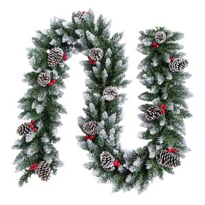 Rattan Christmas Tree Decorations Box of 12 sets Bulk buy