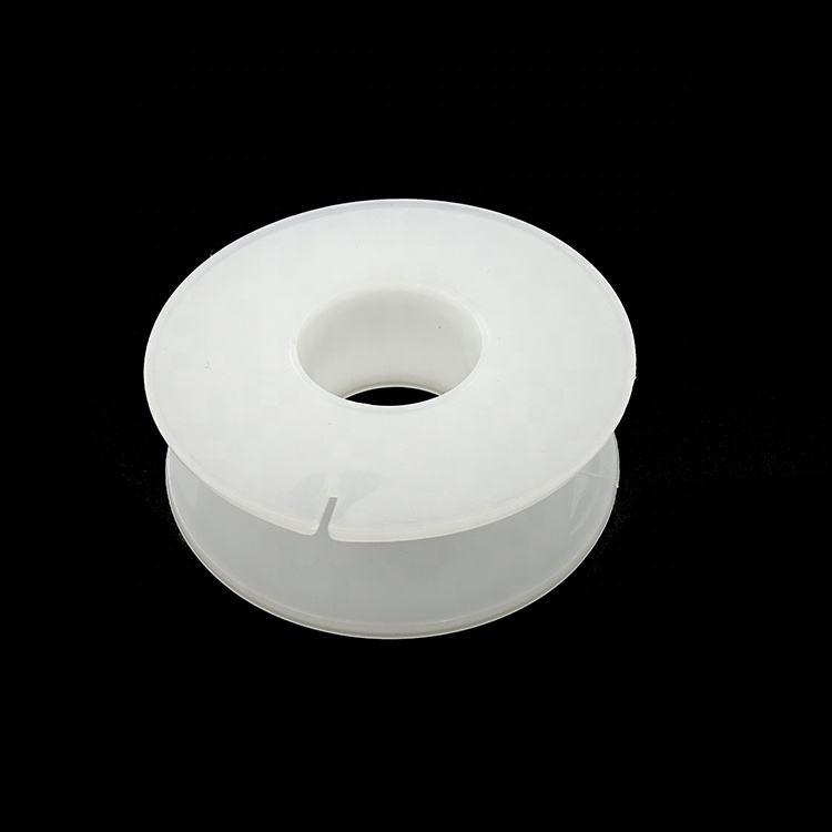 De plástico al por mayor de 7 pulgadas 13 pulgadas PP empacadora accesorios de plástico vacía carrete bobina