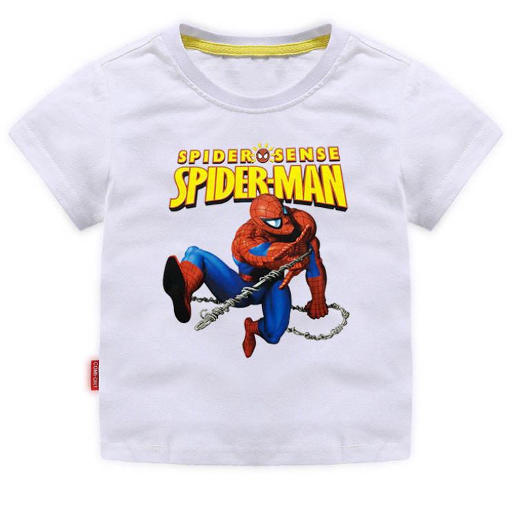 2020 летняя футболка для мальчиков хлопковая футболка с короткими рукавами и рисунком для детей