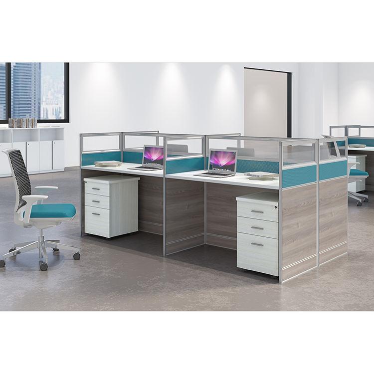 Büro Möbel Kabinen Power Modul, 2-Person Computer Stuhl Workstation, Wand Computer Schreibtisch Workstation