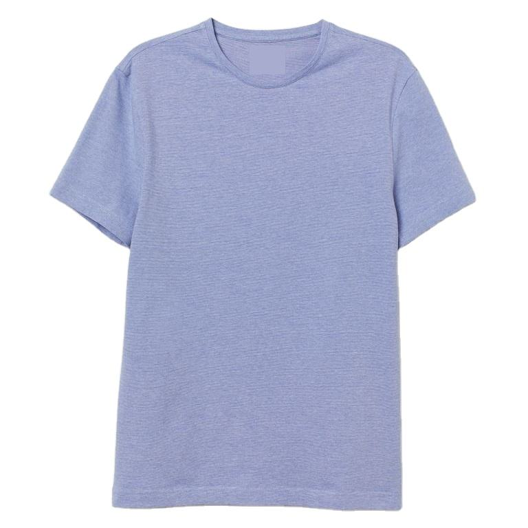 Top Quality Men's Clothing T-shirt 100% Cotton Short Sleeve Breathable Quick Dry Custom T shirt For Men From Bangladesh