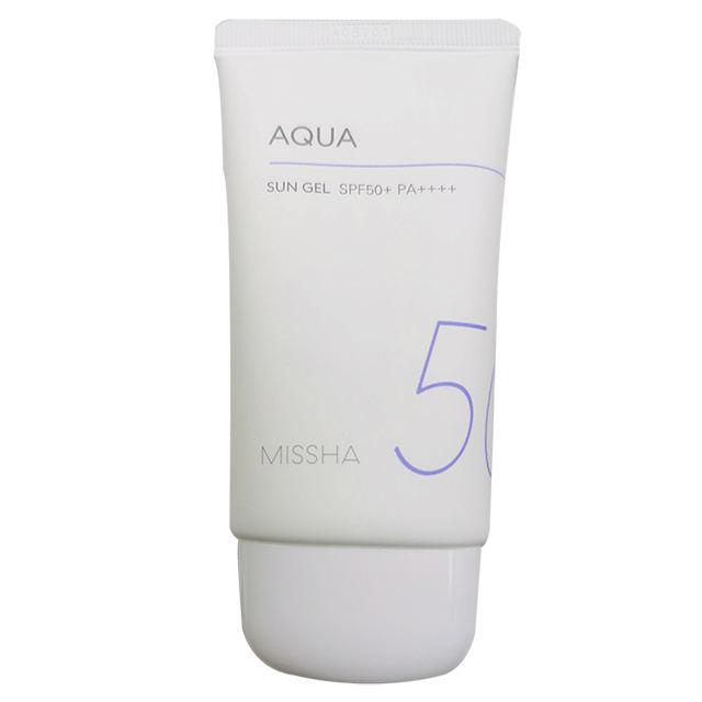 Missha All around Safe Block Aqua Sun Gel Sunscreen Sun block Vegan Private Label OEM skincare Korean Cosmetics Korea skin care