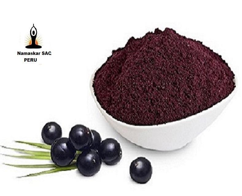 Высокое качество Медицина Высокое качество органический экстракт ягод Асаи порошок