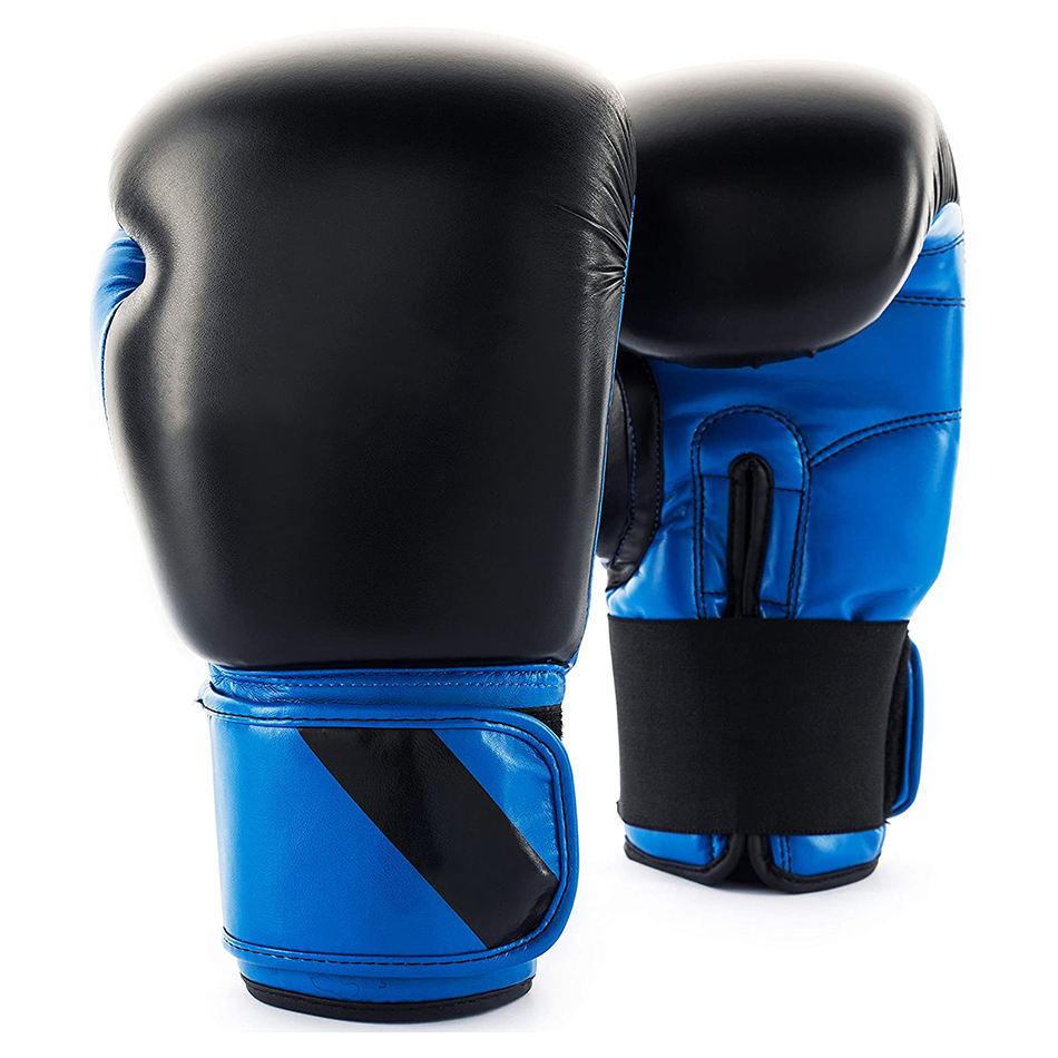 Unique design custom color leather made boxing gloves