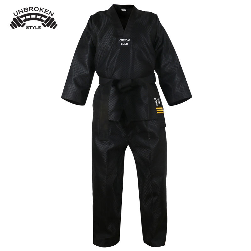 Top Quality Taekwondo Suit for Training Comfortable Karate Taekwondo Martial Arts Uniform in All Size