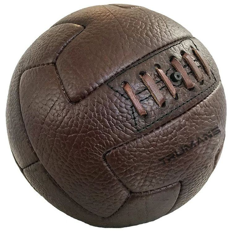 Unique Style Antique Football Best Quality Hand Sewn Old Fashioned Genuine Leather Soccer Balls