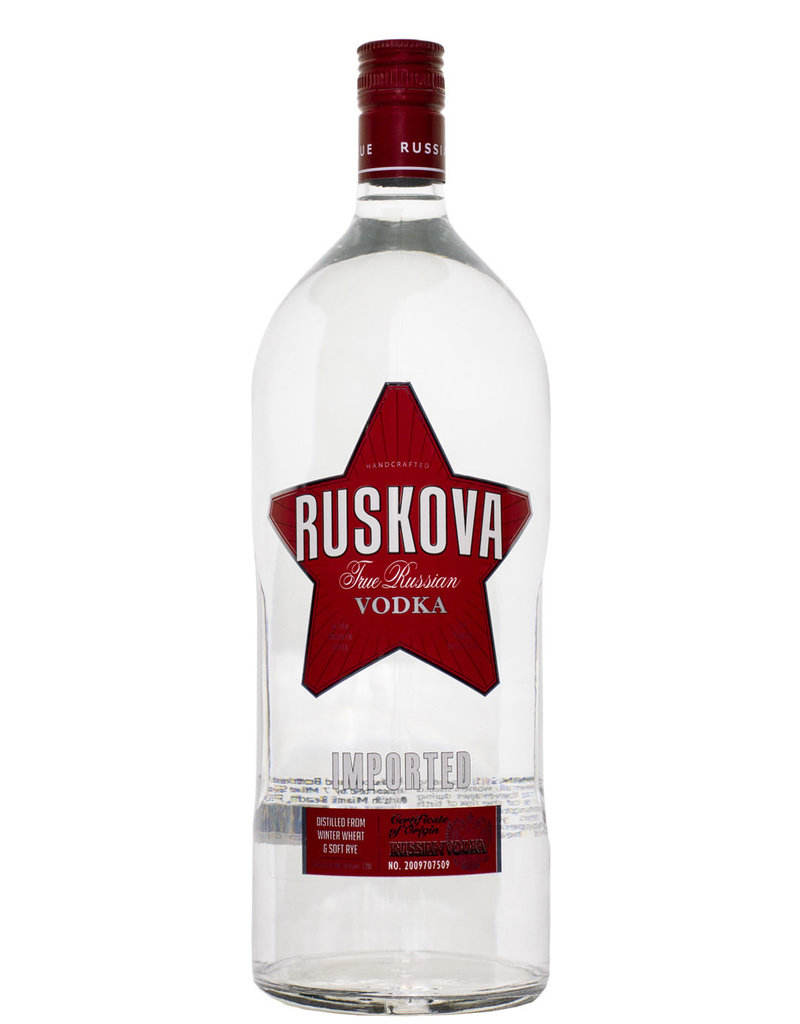 High quality Vodka RUSKOVA from manufacturer, russian vodka
