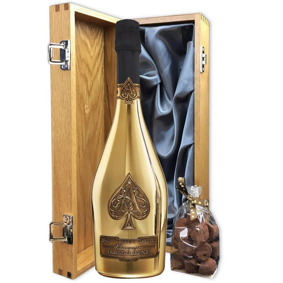 whole sale High standard Ace of Spades Champagne Wine, 750 mL