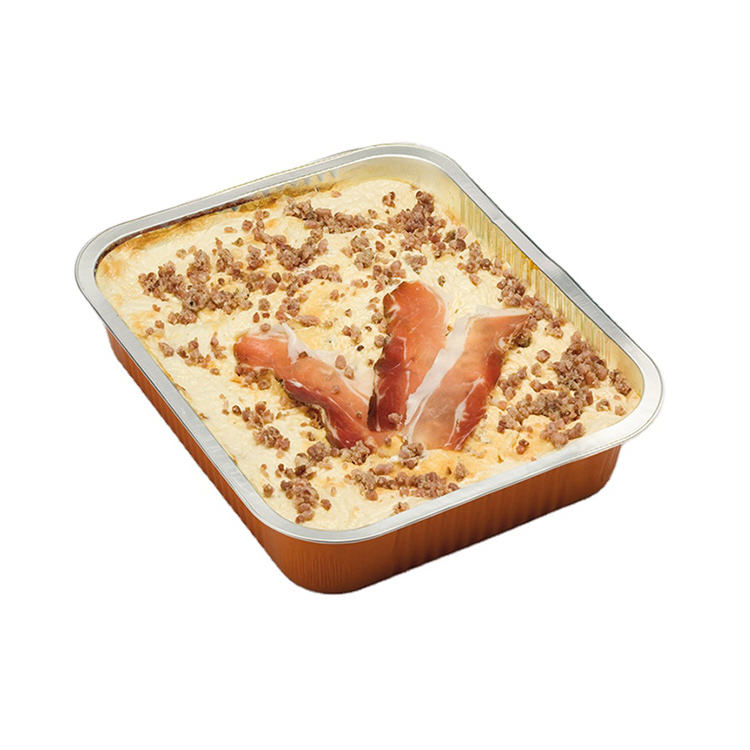 Il Ceppo Srl 2020 Italy Lasagne 4 Cheeses And Speck Set 2500G Frozen