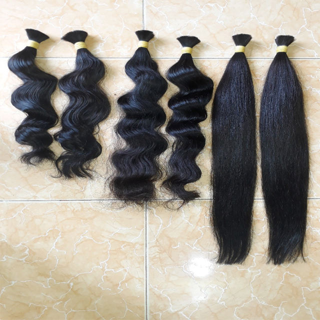 Brut Sud-Est Asiatique Cheveux 6A Vierge Extension de Cheveux Non Transformés