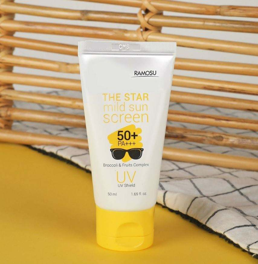Professional Skin Care Product 50ML THE STAR MILD SUNSCREEN (SPF50+/PA+++) in KOREA