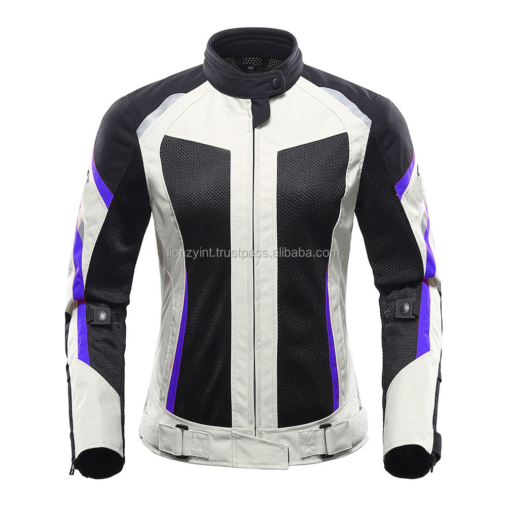 Riding tribe Summer breathable mesh black motorcycle auto racing jacket crashed motorbike outdoor sports wear with eva protector