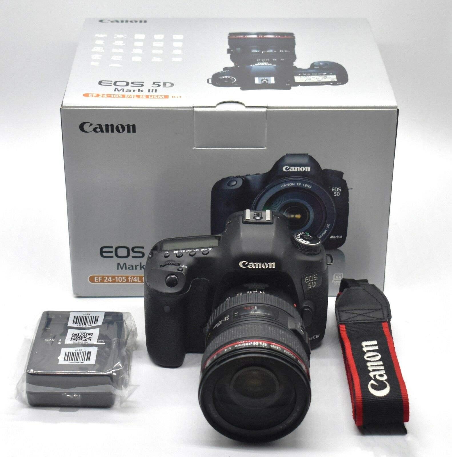 Canon EOS 5D Mark III 22.3MP Digital SLR Camera - Canon EOS 5D Mark IV Full Frame Digital SLR Camera