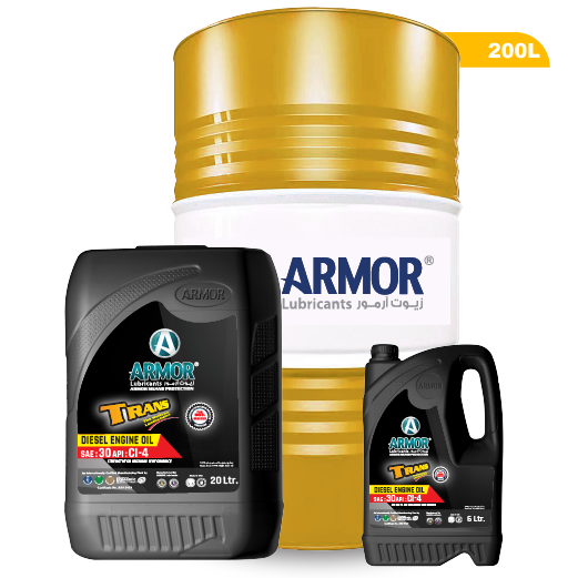 Best quality Mineral Heavy-Duty Diesel Engine Oil CI-4 SAE 30 - Armor Lubricants - Made in UAE