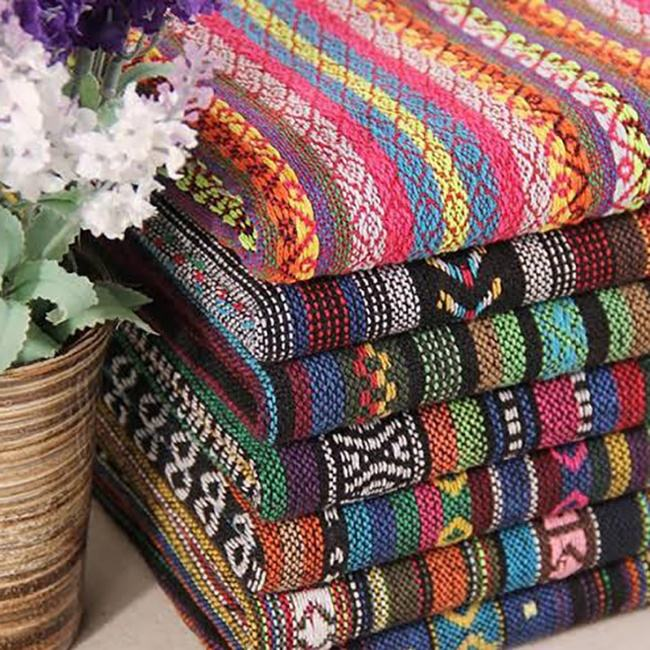 Multipurpose yarn dyed jacquard cotton weave fabric for home textile