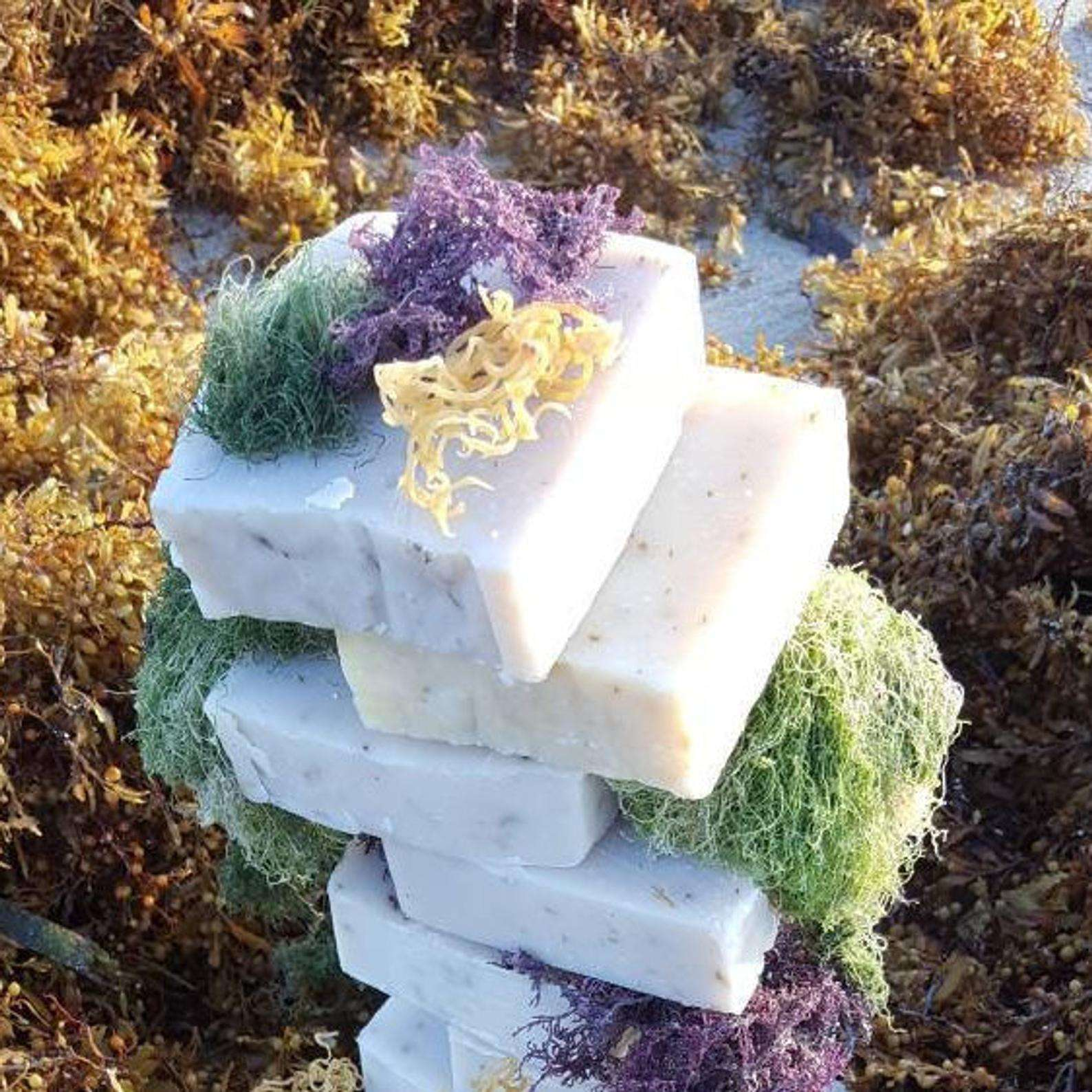 VIETNAMESE SEA MOSS/ EUCHEUMA COTTONII BAR SOAP WITH BEST QUALITY - Ms Katie A +84352310575