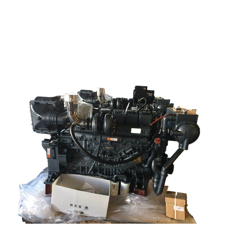 Hot sale 300hp 350hp 400hp 450hp 500hp Weichai boat diesel engine with marine gearbox for ship