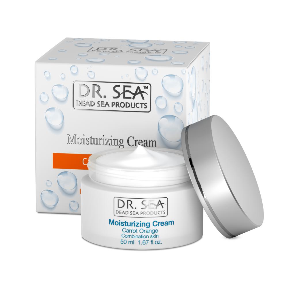 Moisturizing Face Cream - Carrot & Orange by Dr. Sea Cosmetics