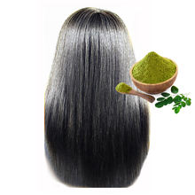 Safe Way of Color Unique Back Henna Color Green Powder for Long Hairs