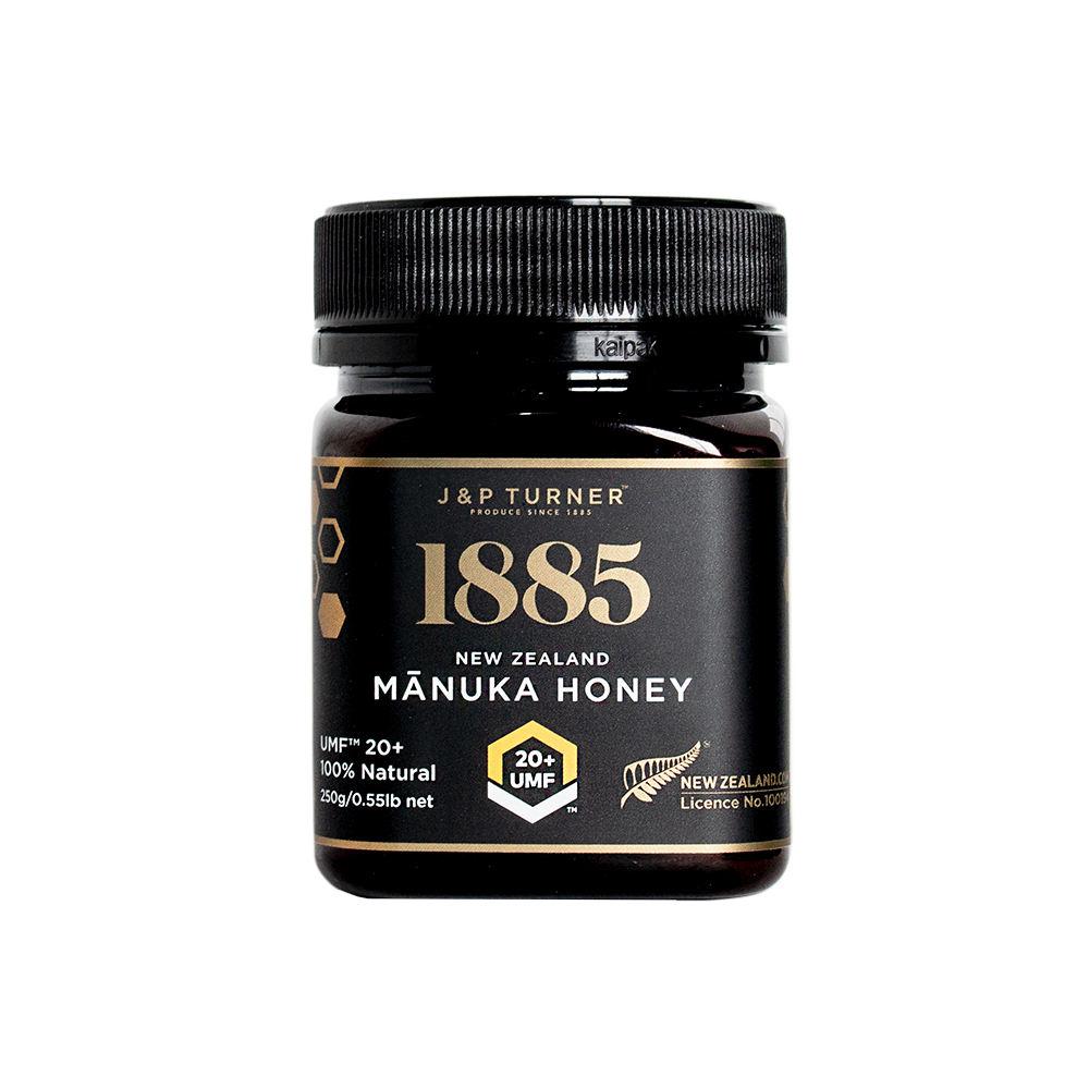 Manuka Honey UMF 20+ 250ml NZ Made Premium Quality 100% Pure Black Label Edition